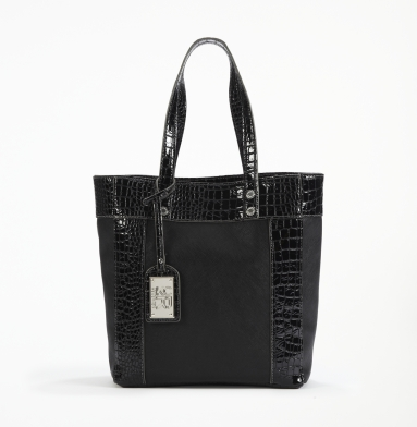 Kenneth Cole Reaction Murray Street Shopper BLACK