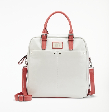 Kenneth Cole Reaction Mott Street Tote WHITE