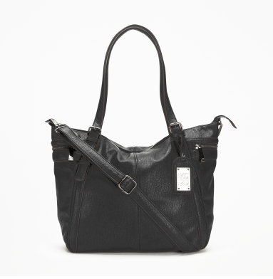 Kenneth Cole Reaction Mercer Street Tote BLACK
