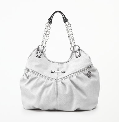 Kenneth Cole Reaction Zip-Time Tote WHITE