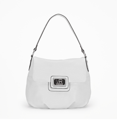 Kenneth Cole Reaction St. Marks Flap-Top Bag WHITE
