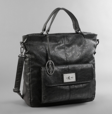 Kenneth Cole Reaction Tote Alone Bag BLACK