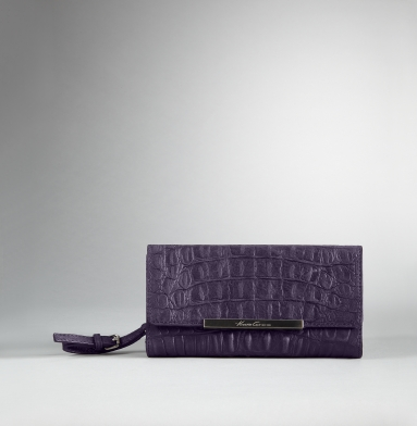Kenneth Cole New York Handle It Over Clutch Wallet GRAPE