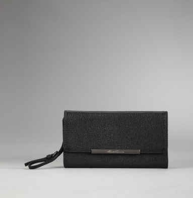Kenneth Cole New York Handle It Over Clutch Wallet BLACK