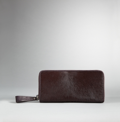 Kenneth Cole New York Zip It To Me Clutch Wallet BURGUNDY