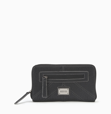 Kenneth Cole Reaction Mercer Street Wallet BLACK
