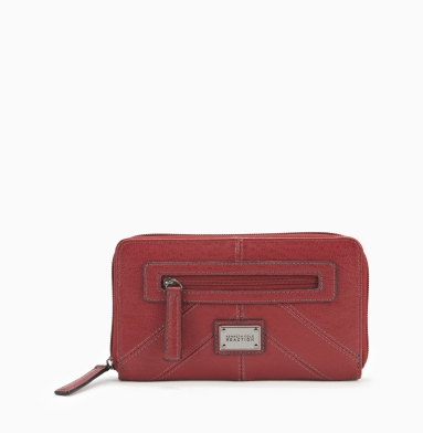 Kenneth Cole Reaction Mercer Street Wallet RED