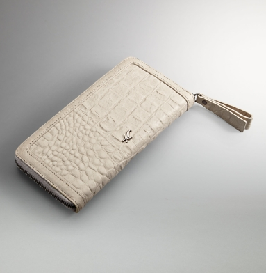 Kenneth Cole New York Zip It To Me Clutch Wallet CEMENT