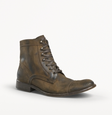 Kenneth Cole New York Game Place Boot BROWN