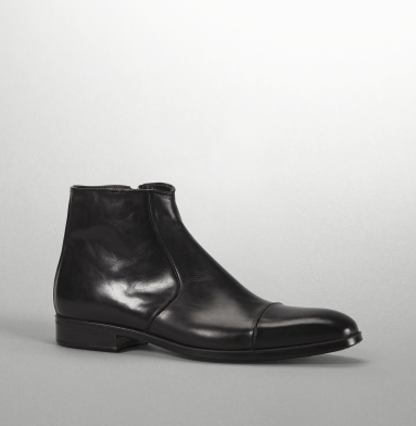 Kenneth Cole Collection Stage Crew Boot BLACK