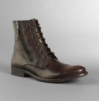 Kenneth Cole Collection Hit Men Boot BROWN
