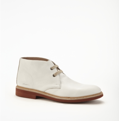 Kenneth Cole New York Aww Chuck-S Boot WHITE