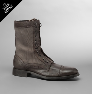 Kenneth Cole New York Bike-Er Phone Boot BROWN