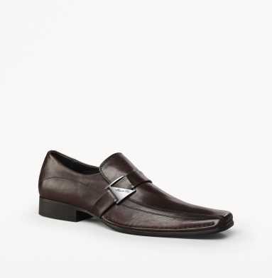 Kenneth Cole New York Run Around Loafer BROWN