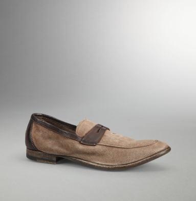 Kenneth Cole Collection Fringe Benefits Loafer BROWN