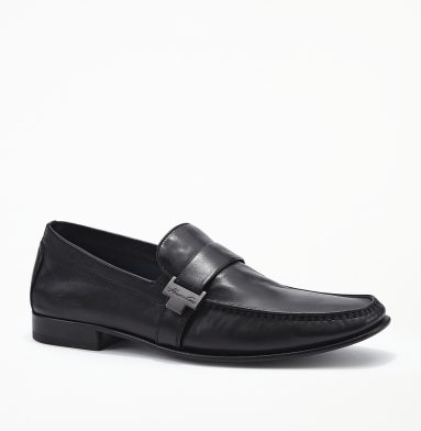 Kenneth Cole New York Florence Leather Loafer BLACK