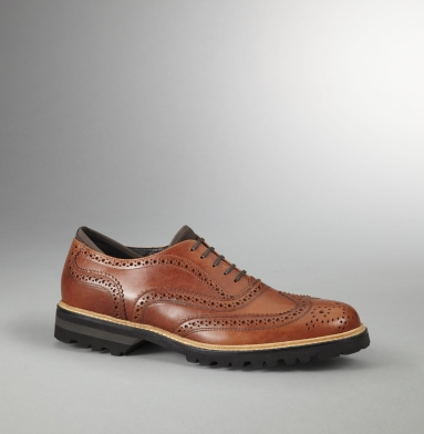 Kenneth Cole Collection Prene N Proper Oxford COGNAC