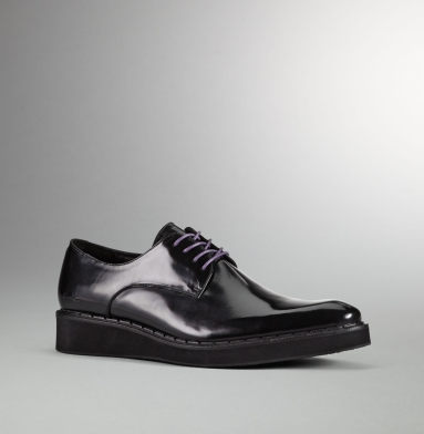 Kenneth Cole Collection Down N Dirty Oxford BLACK