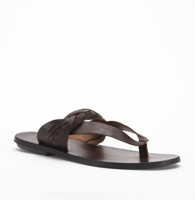 Kenneth Cole New York Free N Clear Sandal DARK BROWN