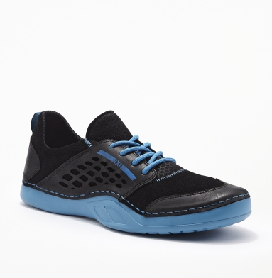 Kenneth Cole Reaction Run Off Sneaker BLACK