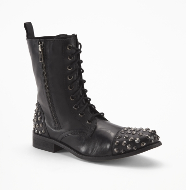 Kenneth Cole Reaction Rockin' Combat Boot BLACK