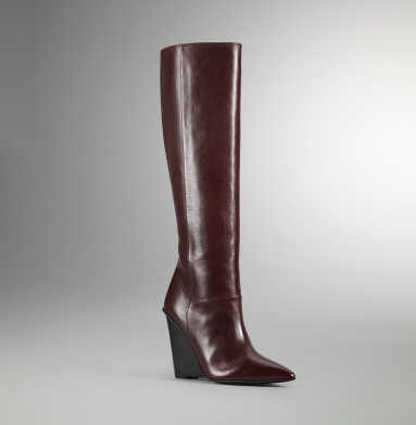 Kenneth Cole Reaction Tres Chic Boot BURGUNDY