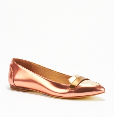 Kenneth Cole New York Last Chance 2 Flat BURNT PINK