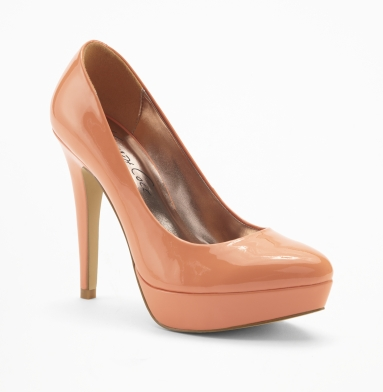 Kenneth Cole New York High Block Pump PEACH