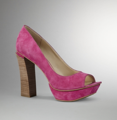 Kenneth Cole New York She's Got Edge Heel HOT PINK