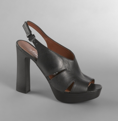 Kenneth Cole New York Hip Shop Heel BLACK