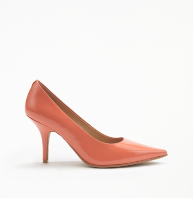 Kenneth Cole New York Stay Here Pump ORANGE