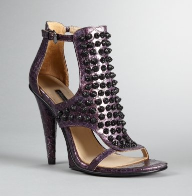 Kenneth Cole Collection Sweet Greet Heel PLUM