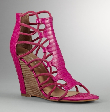 Kenneth Cole New York Let's Rave Sandal HOT PINK