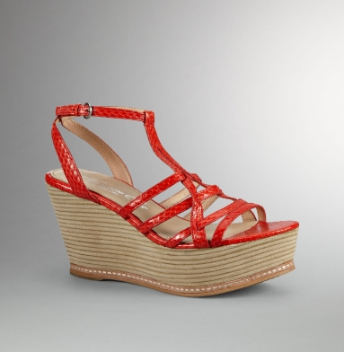 Kenneth Cole New York Spice Tea Sandal ORANGE