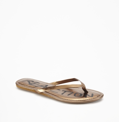 Kenneth Cole Reaction Tiki Harbor Sandal BRONZE