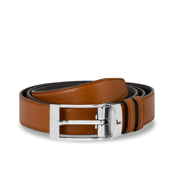 Lancel Men's Belt MOCHA/COGNAC