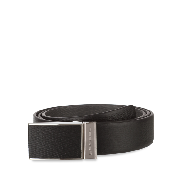 Lancel Men's Belt BLACK/SLATE