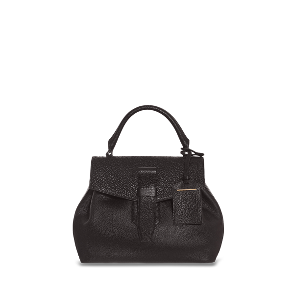 Lancel Charlie de  Small top handle BLACK