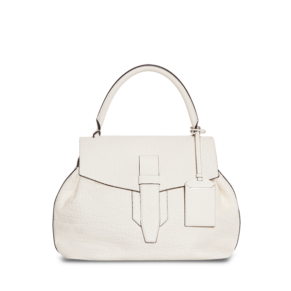Lancel Charlie de  Large top handle ALABASTER