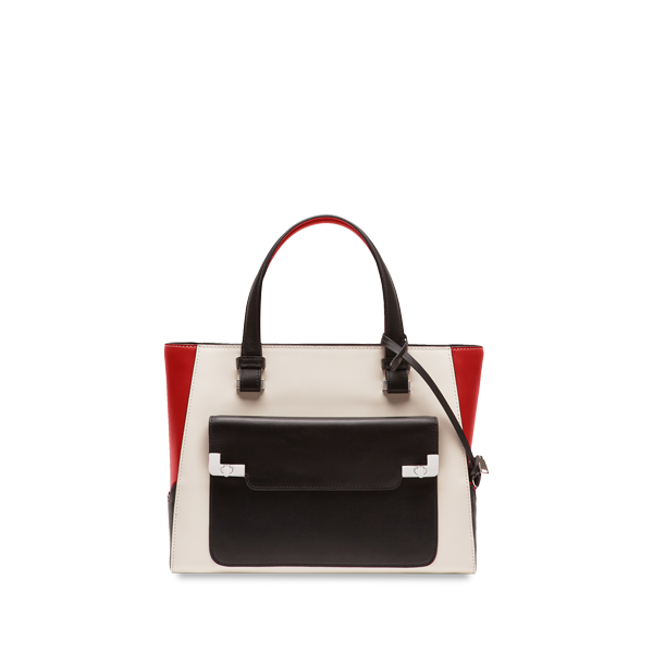Lancel L de  Small shopper TRICOLORE