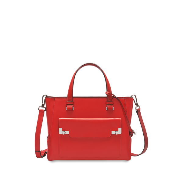 Lancel L de  Small shopper RED