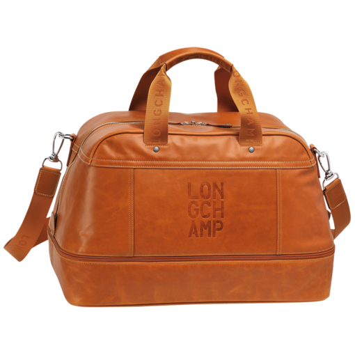 Longchamp Cavalier Expandable travel bag Orange