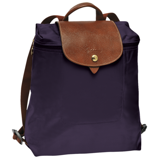 Longchamp Le Pliage Backpack Bilberry
