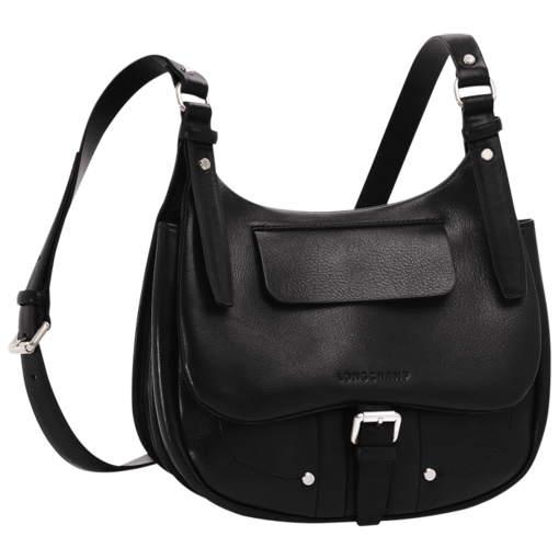 Longchamp Balzane Messenger bag Black