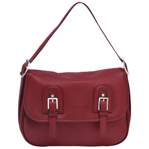 Longchamp Cosmos Hobo bag Carmine