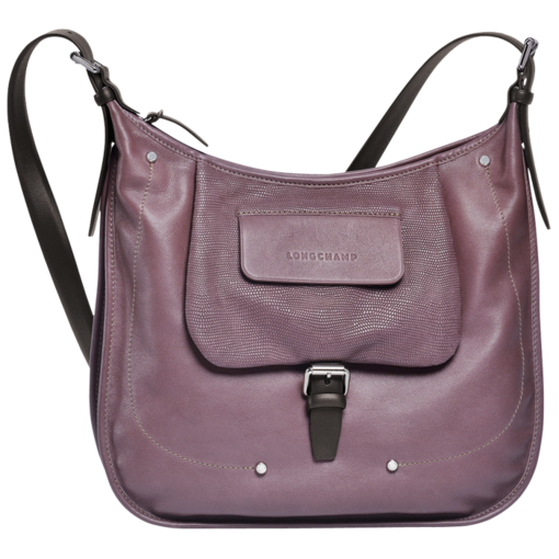 Longchamp Balzane roots Hobo bag Mauve