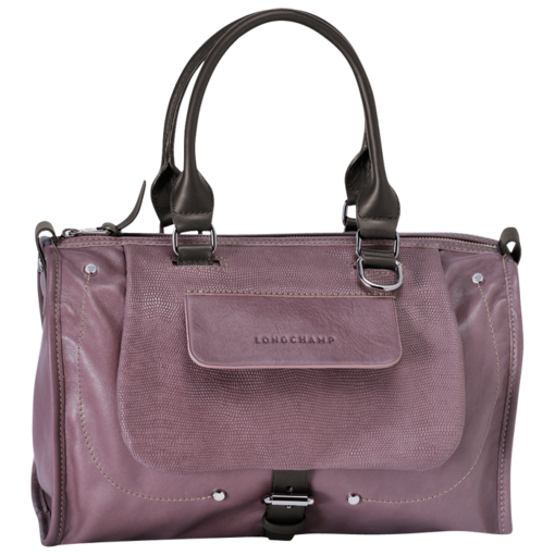 Longchamp Balzane roots Duffel bag Mauve