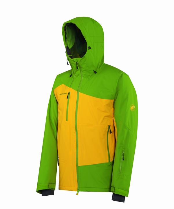 Mammut Men Eriz Jacket peridot-yellow