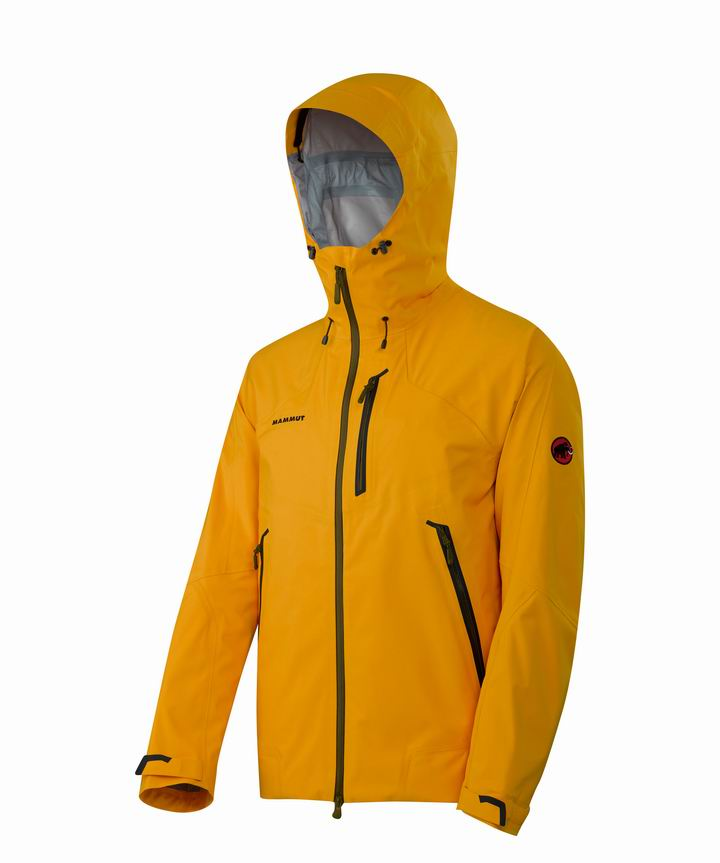Mammut Men Masao Jacket yolk