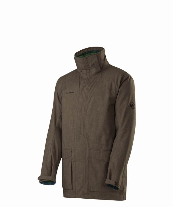 Mammut Men Ruler Parka dark oak-verdant